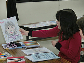3/8 似顔絵の描き方入門教室