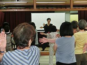 7/31 初夏のアロマ体操教室