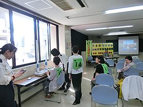 9/28 シニアの交通安全教室 シミュレーション体験!