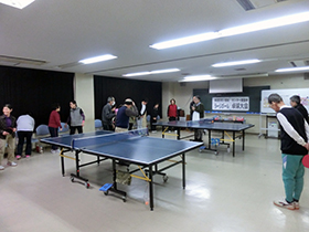 12/13 第8回東成区老人福祉センター館長杯 ラージボール卓球大会