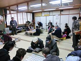 1/12 世代間交流イベント『お正月遊び大会&百人一首大会』