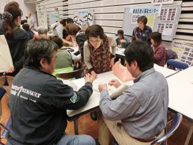 11/2 手芸教室さんが東成区社会福祉協議会主催の「ふれあい広場」に参加