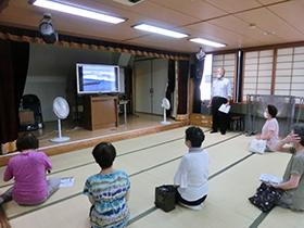大阪880万人訓練に連動した消防(避難)訓練