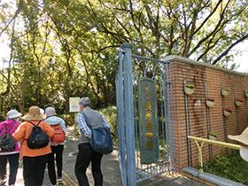 身近に手軽に 秋の歩こう会(長居公園方面)
