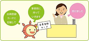 きづくちゃん「たすけ愛」活動 会員登録